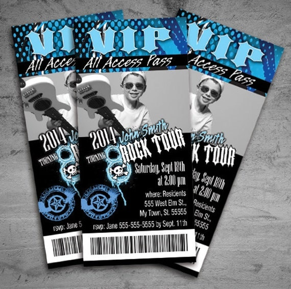 Concert Ticket | Etsy