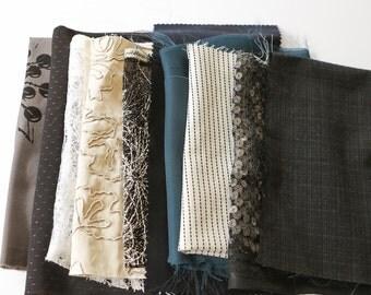 Multi Colored Fabric Surprise Scrap Pack Fancy Designer Fabrics