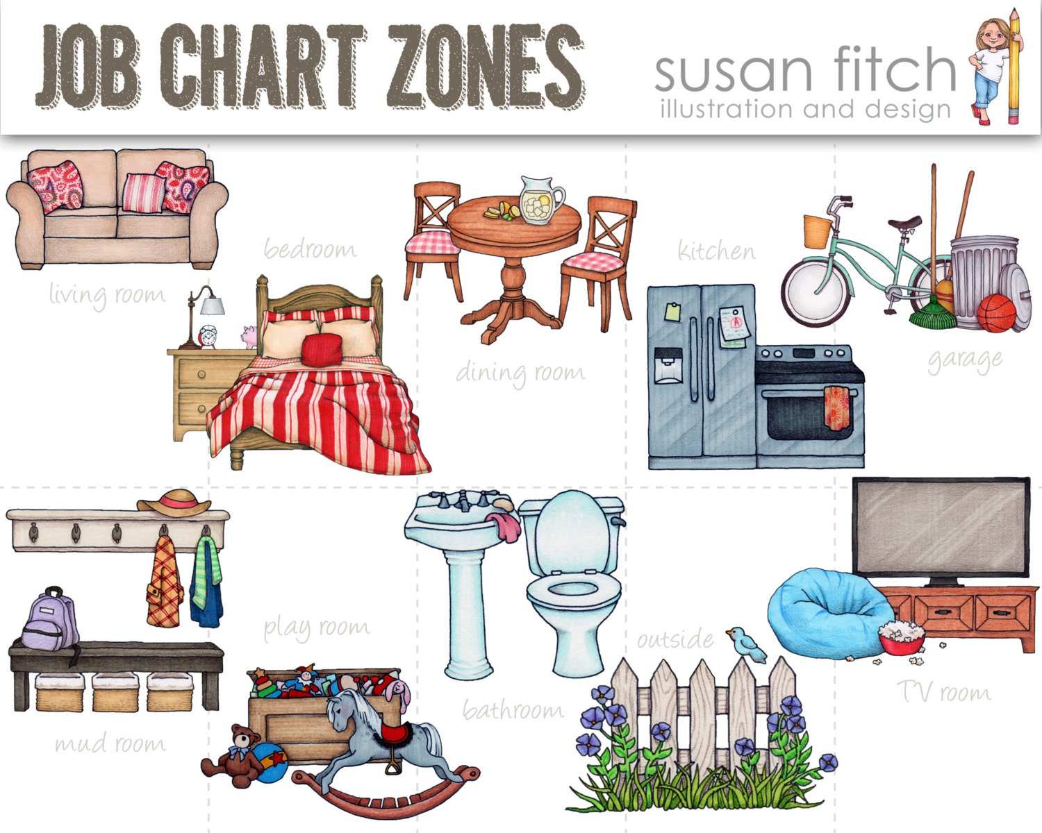 Chore Chart Clipart | www.imgkid.com - The Image Kid Has It!