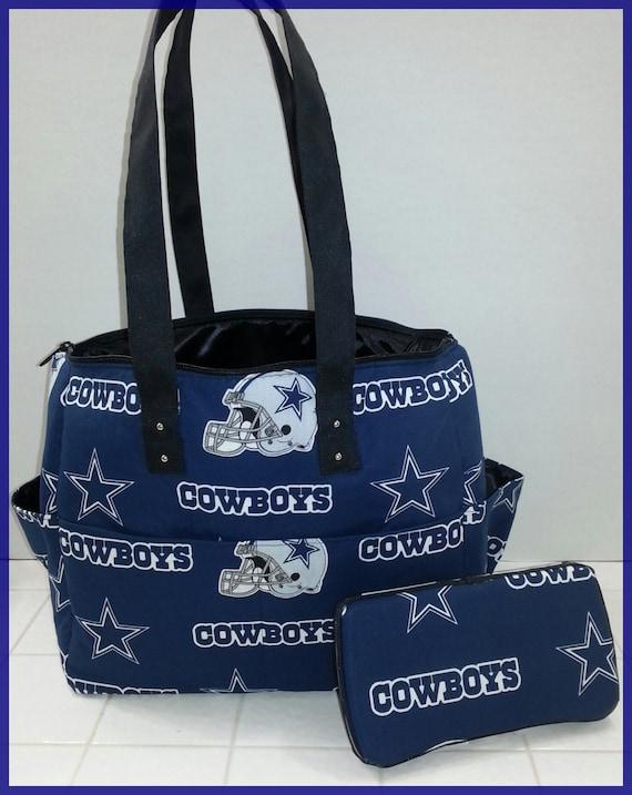 Cowboy Diaper Bags : Dallas cowboys diaper bag matching wipe case blue black