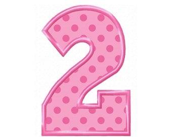 No. 2...5 Sizes...Instant Download...Applique Machine Embroidery DESIGN NO. 168