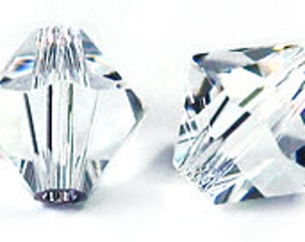 Swarovski 10mm Bicone - Crystal
