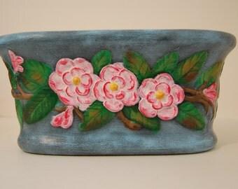 Ceramic Camillia Planter