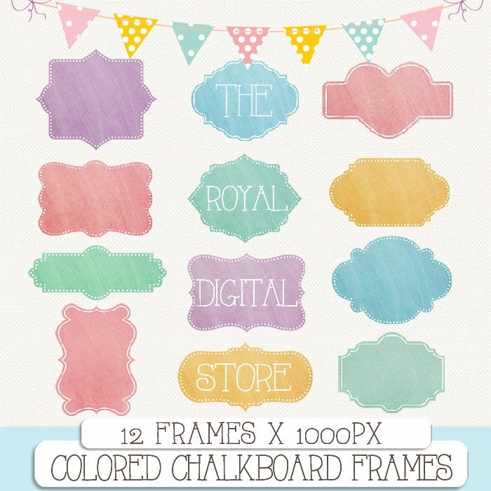 frames clip art | The Royal Digital Store