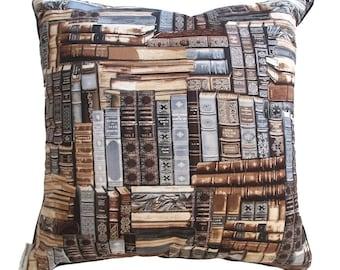 book neutral cushion/pillow