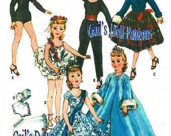 Hi Heel Doll Wardrobe #2 Pattern