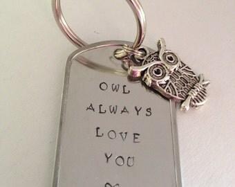 Owl Always Love You Keychain