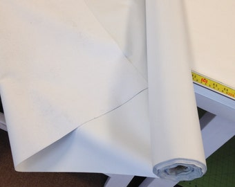 White 3 Pass Blackout lining for drapery
