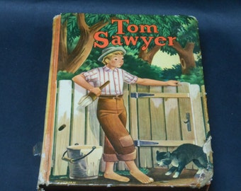 Vintage copy of Tom Sawyer