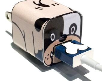 TechTattz Puppy USB Charger Decal Skin Wrap Sticker
