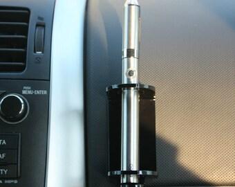 e-cig e-cigarette stand holder car and home for ego, evod, vision spinner, 20 mm