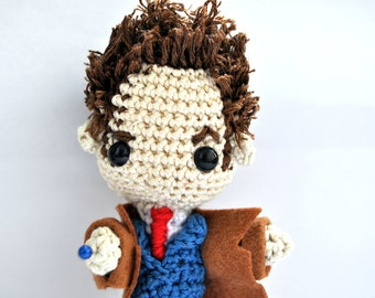 Tenth Doctor Amigurumi Pattern (Doctor Who)