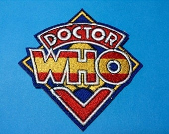 Iron on Sew on Patch:  Doctor Who