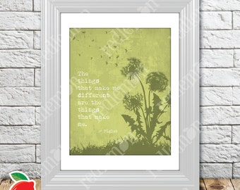 The Wisdom of Pooh Sentiment Nursery Print Green