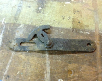 Antique barn door latch