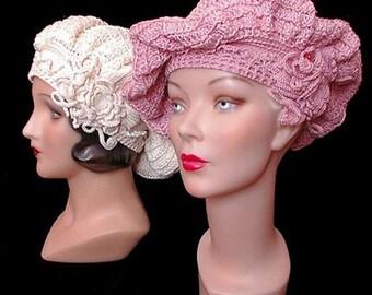 Stunning Crochet Vintage-Inspired Head Turbans - Made to Order