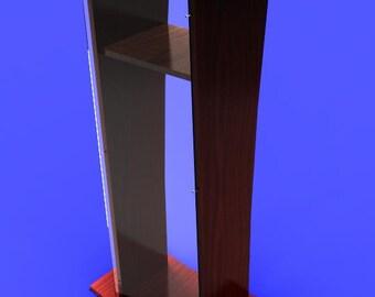 Pulpit Podium Lectern Stylish Wood (MDF) with Transparant Plexiglass Great Craftsmanship