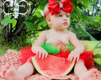 Watermelon tutu summer