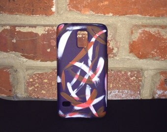 Hand Painted Abstract Art Samsung Hard Case