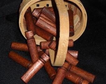 Wooden Needle Box