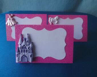 Princess Food tents/ Place Cards Set of 6