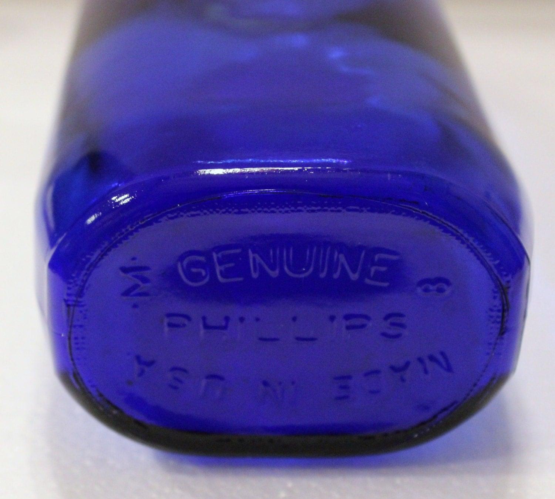1906 Milk of Magnesia bottle