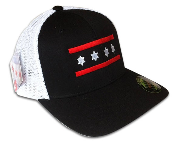 Chicago Blackhawks Hats Blackhawks/bulls Mesh Chicago