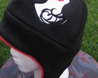 Vampire Beauty Fleece Ear Flap Hat