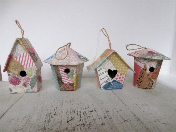 Pretty Decorative Paper Decorative Paper Mache' Bird