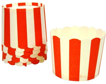 6 Carnival Theme Baking Cups - Cupcake Cups - Decorative Cupcakes - Treat Cups - Party Cups - Ice Cream Cups - Candy Cups - Dip -