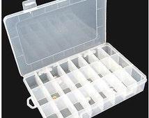 10/15/24/36 grids rainbow loom box rainbow loom case diy rainbow bracelets kit storage box jewelry box