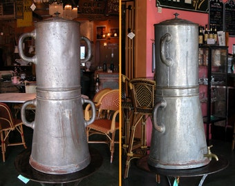 Antique French Cafe' Coffee Dispenser