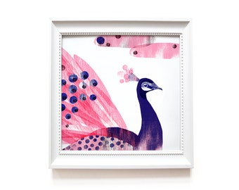 Art print   Peacock
