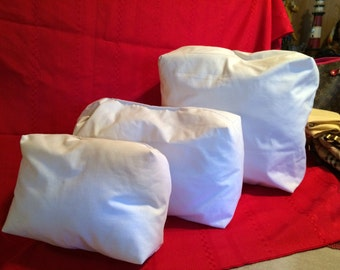 Purse Pillows - Handbag Shapers - Size Medium