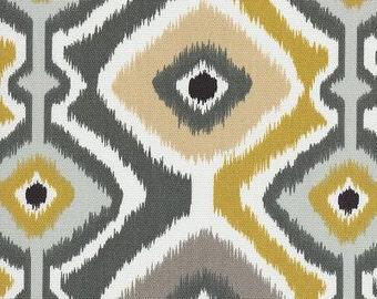 Ikat Mesa Graphite, Ikat Fabric