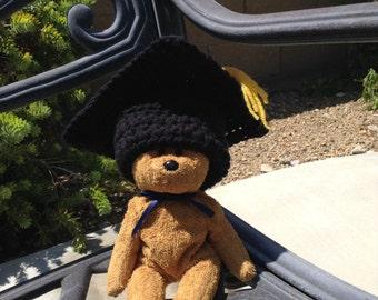 Crochet Preemie/NICU graduation hat