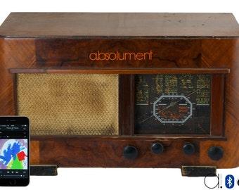 """Bluetooth """"Ondia"""" vintage radio (50W)"""