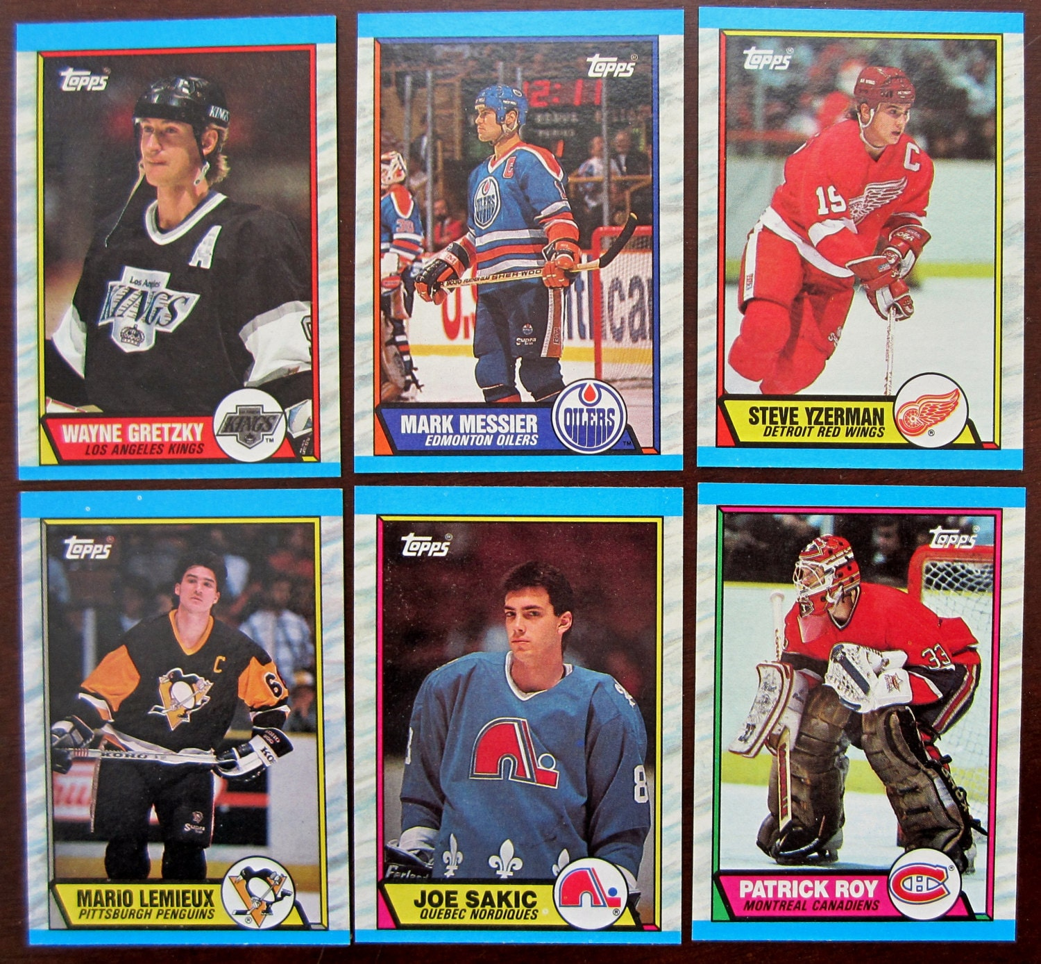1989-90 Topps Hockey Card Set Complete 198 By