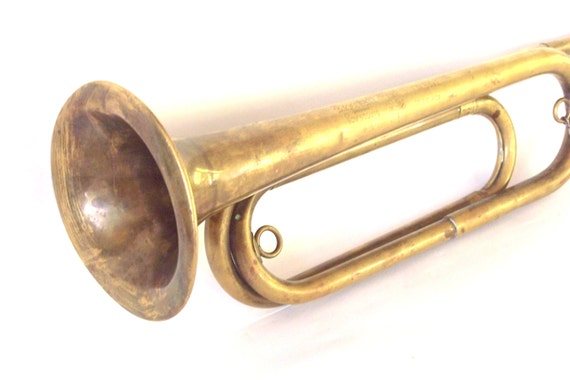 vintage boy scout bugle