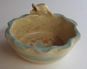 Mouse Bowl Baby Gift, Handmade Ceramics by Karlene Voepel