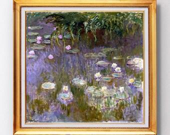 Claude Monet - Water Lilies - Fine Art Glicée - 1920 - SKU 0168