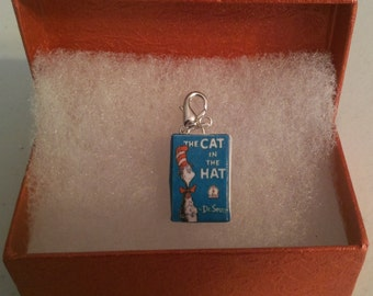 Cat in the Hat Charm