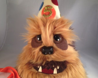 Chewbacca Birthday Party Hat
