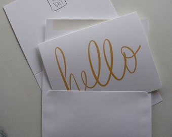 Hello Card (GC022101)