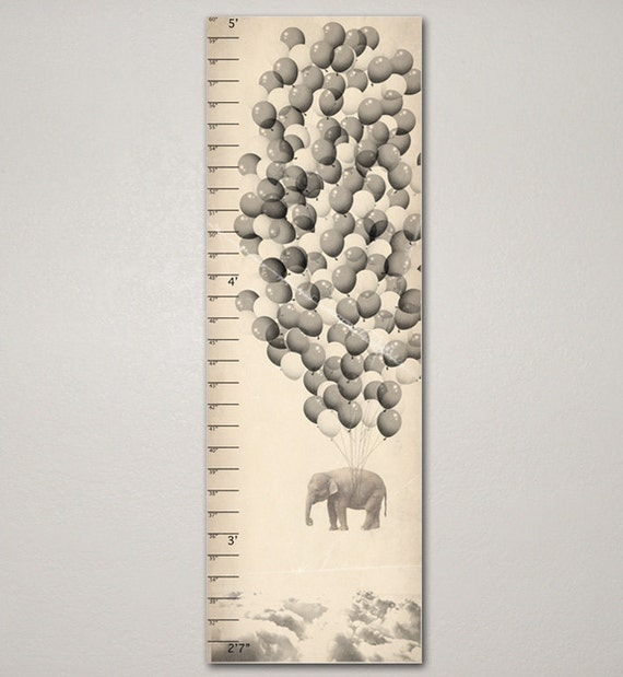 Elephant Growth Chart on Etsy