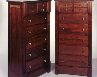 His & Hers Matched Chest of Drawers
