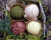 Jewel of the Nile Bath Truffle Sampler Gift Box - Egyptian Inspired All Natural Bath Bomb Bath Melts