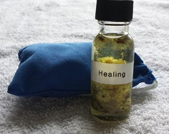 Healing Mojo Bag and Oil