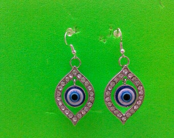 All-Seeing Eye Charm Earrings