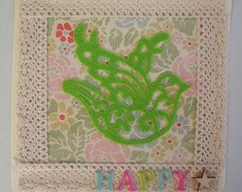 Map pastel: happy